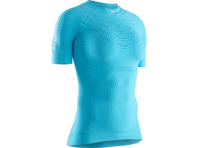 X-Bionic Effektor G2 T-shirt de running Femme, effektor tuquoise/arctic white